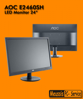 "AOC 24"" LED Monitor E2460SH"